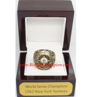 1962 New York Yankees World Series Championship Ring, Custom New York Yankees Champions Ring
