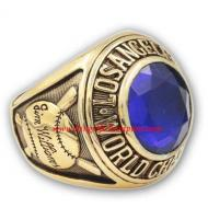 1963 Los Angeles Dodgers World Series Championship Ring, Custom Los Angeles Dodgers Champions Ring