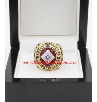 1964 St. Louis Cardinals Baseball World Series Championship Ring, Custom St. Louis Cardinals Champions Ring