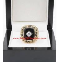 1966 Baltimore Orioles World Series Championship Ring, Custom Baltimore Orioles Champions Ring