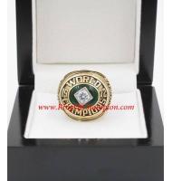 1972 Oakland Athletics World Series Championship Ring, Custom Oakland Athletics Champions Ring