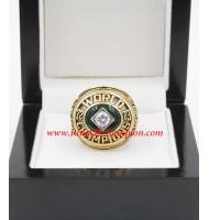 1973 Oakland Athletics World Series Championship Ring, Custom Oakland Athletics Champions Ring
