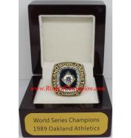 1989 Oakland Athletics World Series Championship Ring, Custom Oakland Athletics Champions Ring