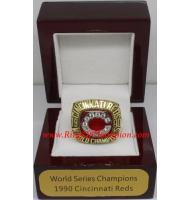 1990 Cincinnati Reds World Series Championship Ring, Custom Cincinnati Reds Champions Ring