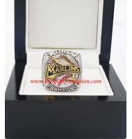 2003 Florida Marlins World Series Championship Ring, Custom Florida Marlins Champions Ring