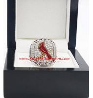 2011 St. Louis Cardinals World Series Championship Ring, Custom St. Louis Cardinals Champions Ring