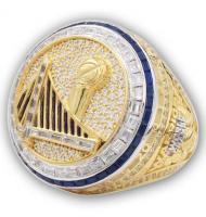 2016 - 2017 Golden State Warriors Men's Basketball World Championship Ring