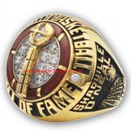 2016 Shaquille O'Neal Naismith Memorial Basketball Hall of Fame Players Championship Ring