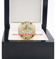 2016 Kobe Bryant Basketball Super Star Retire Anniversary Championship Ring