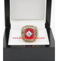 1966 - 1967 Philadelphia 76ers Basketball World Championship Ring, Custom Philadelphia 76ers Champions Ring