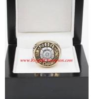 1977 - 1978 Washington Bullets Basketball World Championship Ring, Custom Washington Bullets Champions Ring