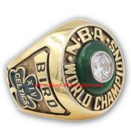 1980 - 1981 Boston Celtics Basketball World Championship Ring, Custom Boston Celtics Champions Ring