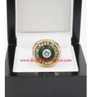 1980 - 1981 Boston Celtics Basketball World Championship Ring, Custom Boston Celtics Champions Ring