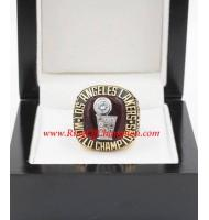 1984 - 1985 Los Angeles Lakers Basketball World Championship Ring, Custom Los Angeles Lakers Champions Ring