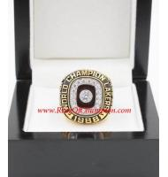 1987 - 1988 Los Angeles Lakers Basketball World Championship Ring, Custom Los Angeles Lakers Champions Ring