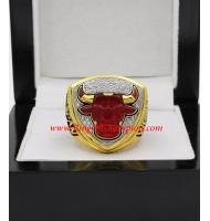 1992 - 1993 Chicago Bulls Basketball World Championship Ring (Upgrade Version)