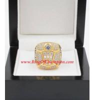 1997 - 1998 Chicago Bulls Basketball World Championship Ring, Custom Chicago Bulls Champions Ring