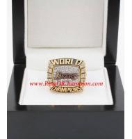 1999 - 2000 Los Angeles Lakers Basketball World Championship Ring, Custom Los Angeles Lakers Champions Ring