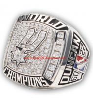 2002 - 2003 San Antonio Spurs Basketball World Championship Ring, Custom San Antonio Spurs Champions Ring