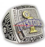 2003 - 2004 Detroit Pistons Basketball World Championship Ring, Custom Detroit Pistons Champions Ring