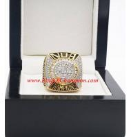 2006 - 2007 San Antonio Spurs Basketball World Championship Ring, Custom San Antonio Champions Ring