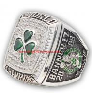 2007 - 2008 Boston Celtics Basketball World Championship Ring, Custom Boston Celtics Champions Ring