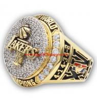 2008 - 2009 Los Angeles Lakers Basketball World Championship Ring, Custom Los Angeles Lakers Champions Ring