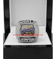 2015–2016 Cleveland Cavaliers Basketball Replica World Championship FAN Ring, Custom Cleveland Cavaliers Ring