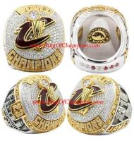 2015–2016 Cleveland Cavaliers Basketball Replica World Championship Ring, Custom Cleveland Cavaliers Ring