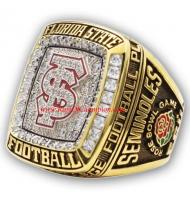 2014 Florida State Seminoles ACC Men's Football College Replica Championship Ring