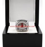 2011 Alabama Crimson Tide Men's Football BCS National College Championship Ring