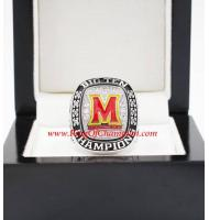 2016 Michigan Wolverines Big Ten Ice Hockey Lacrosse College Championship Ring