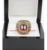1995 Nebraska Cornhuskers Men's Football NCAA National College Championship Ring