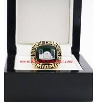 2001 Miami Hurricanes Men's Football NCAA National College Championship Ring