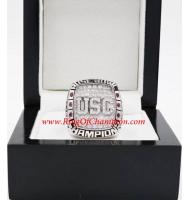 2008 USC Trojans Men's Football Rose Bowl College Championship Ring