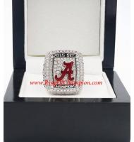 2015 Alabama Crimson Tide SEC Men's Football College Championship Ring