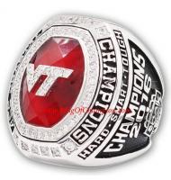 2016 Virginia Tech Hokies ACC Men's Football College Championship Ring, custom Virginia Tech Hokies Ring
