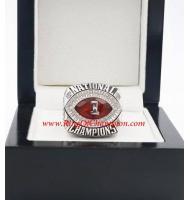 2009 Alabama Crimson Tide Men's Footaball BCS championship ring, Custom Alabama Crimson Tide Champions Ring