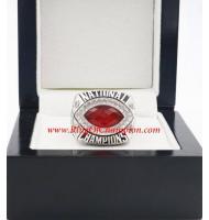 2012 Alabama Crimson Tide Men's Football BCS National Championship Ring, Custom Alabama Crimson Tide Champions Ring