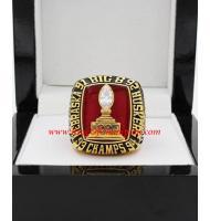 1995 Nebraska Cornhuskers Big 8 Men's Football College Championship Ring, Custom Nebraska Cornhusker Champions Ring