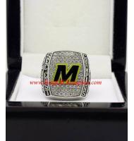 2015 Michigan State Spartans Men's Football Buffalo Wild Wings Citrus Bowl Championship Ring, Custom Michigan State Spartans Champions Ring