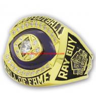 2014 Gray Guy Pro Football Hall of Fame Championship Ring, Custom Hall of Fame Champions Ring