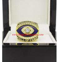 2014 Gray Guy Pro Football Hall of Fame Championship Ring, Custom Hall of Fame Champions Ring