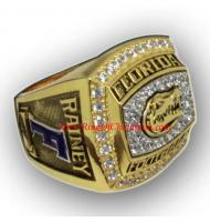 2011 Florida Gators Men's Football Gator Bowl College Championship Ring