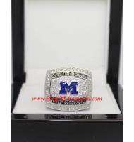 2010 Michigan Wolverines Men's Football Gator Bowl College Championship Ring