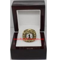 1982 North Carolina Tar Heels Men's Basketball NCAA National College Championship Ring