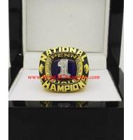 1982 Penn State Nittany Lions NCAA Men's Football National College Championship Ring
