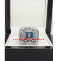 2015 Duke Blue Devils NCAA Men's Basketball National College Championship Ring