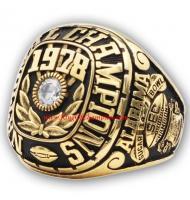 1978 Alabama Crimson Tide NCAA Men's Football College Championship Ring