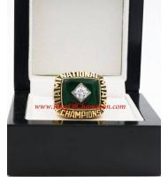 1987 Miami Hurricanes Men's Football NCAA National College Championship Ring